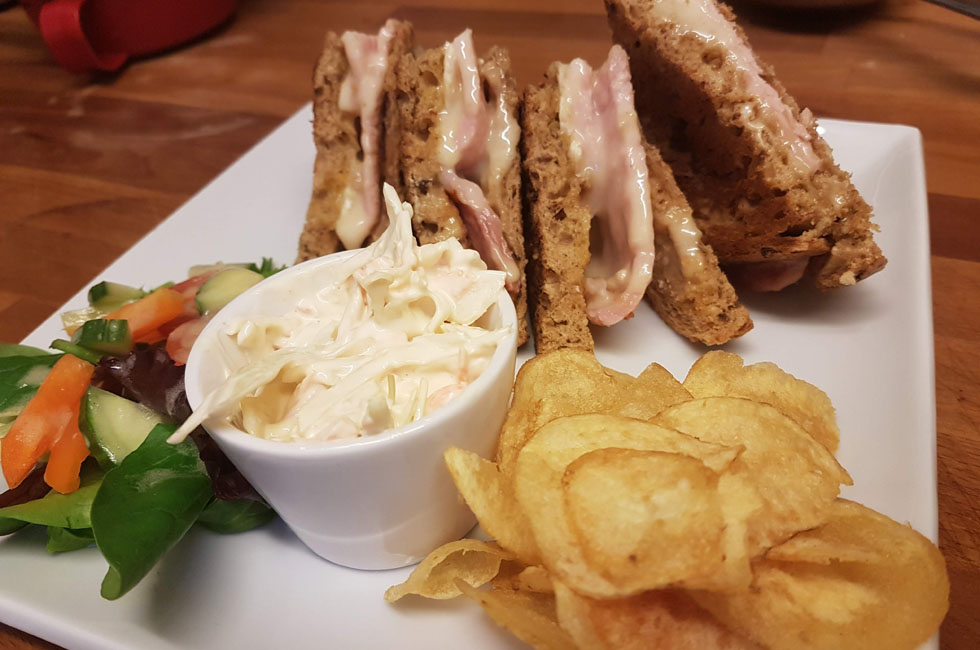 Made to order sandwiches for lunch at our Malmesbury bistro